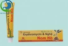 Erythromycine & Nghệ Nam Hà