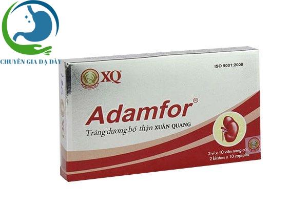 Hộp thuốc Adamfor