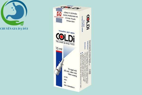 Hộp thuốc Coldi B