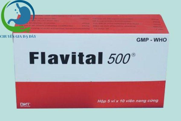 Hộp thuốc Flavital