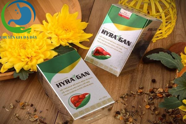 Hộp sản phẩm Hyra gan