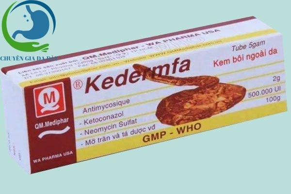 Hộp thuốc Kedermfa
