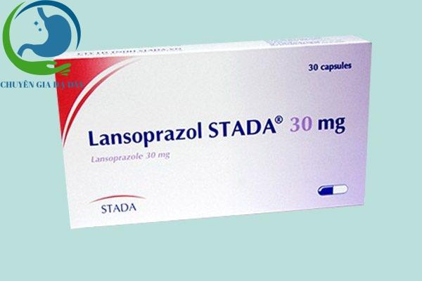 Hộp thuốc Lansoprazol