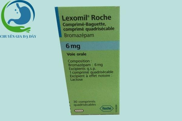 Hộp thuốc Lexomil
