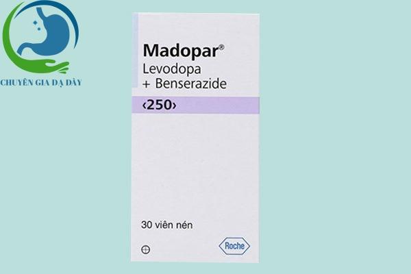 Hộp thuốc Madopar