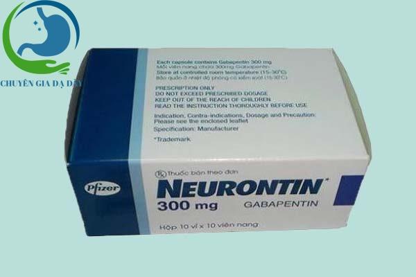 Hộp thuốc Neurontin