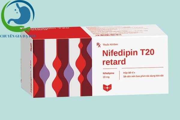 Hộp thuốc Nifedipine T20 Stella retard