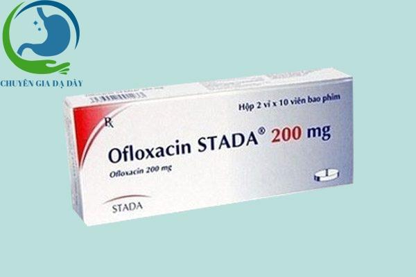 Hộp thuốc Ofloxacin