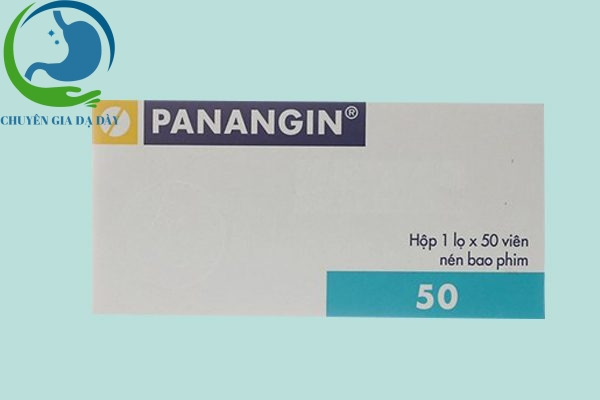 Hộp thuốc Panangin