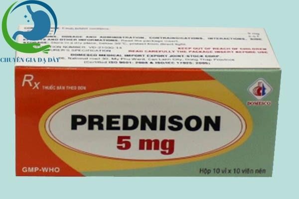 Hộp thuốc Prednisolon