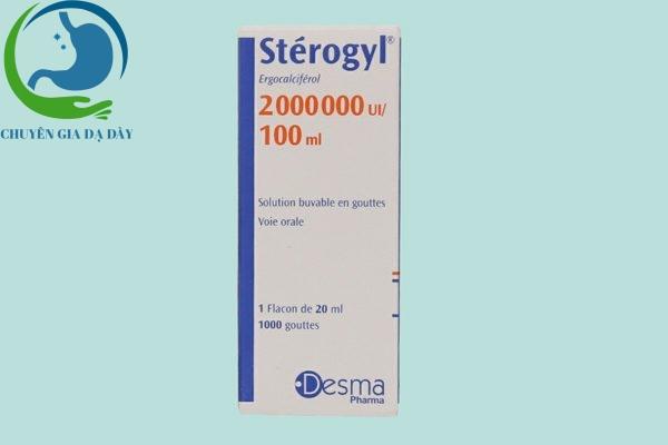 Hộp thuốc Stérogyl