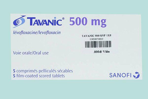 Hộp thuốc Tavanic