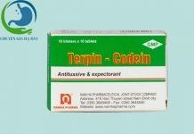 Hộp thuốc Terpin codein