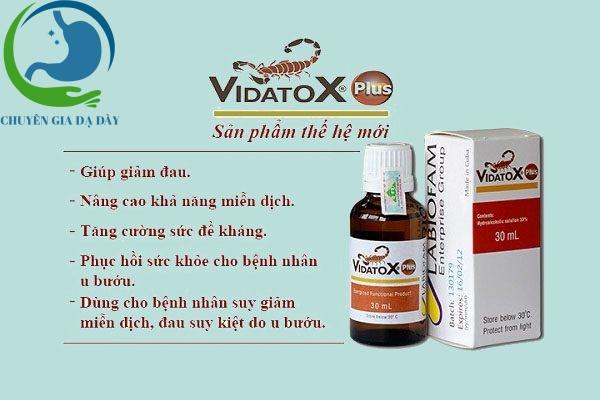 Công dụng Vidatox Plus