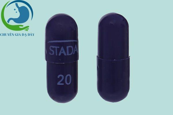 Viên thuốc Esomeprazol Stada 20mg