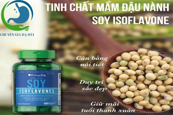 Công dụng của SOY ISOFLAVONES