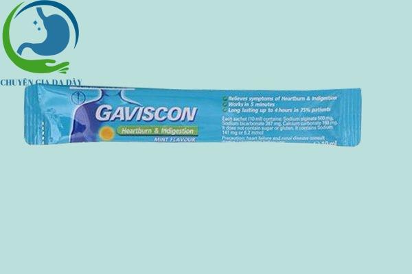 Gói thuốc Gaviscon