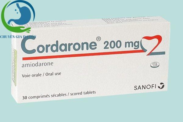 Hộp thuốc Cordarone