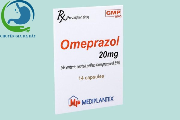 Hộp thuốc Omeprazol