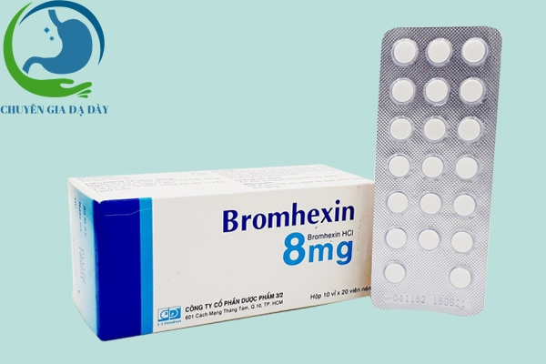 Thuốc Bromhexin 8mg