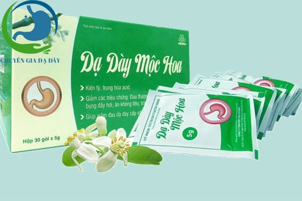 Dạ dày mộc hoa có tác dụng giảm đau dạ dày