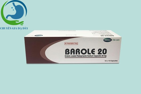 Hộp thuốc Barole 20