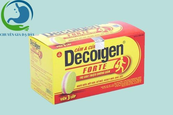 Hộp thuốc Decolgen Forte