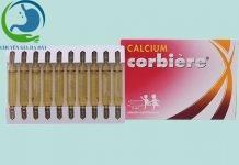 Hộp và vỉ thuốc Calcium corbiere