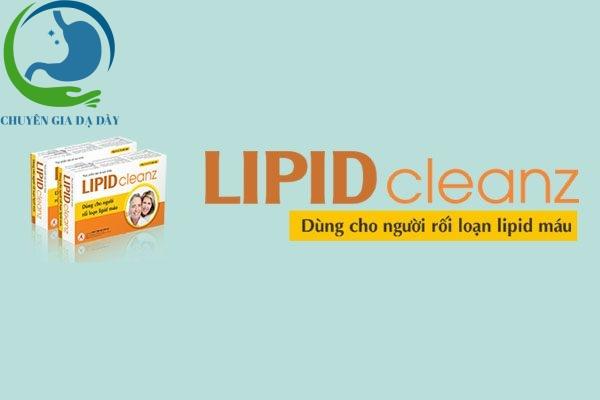 Sản phẩm Lipidcleanz dùng cho người rối loạn lipid máu