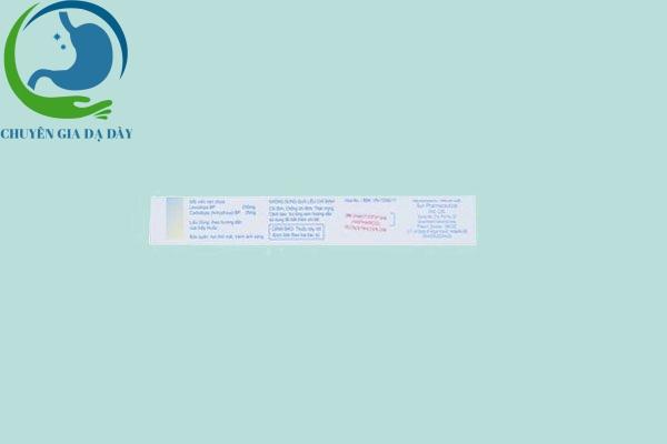Thông tin thuốc Syndopa 275