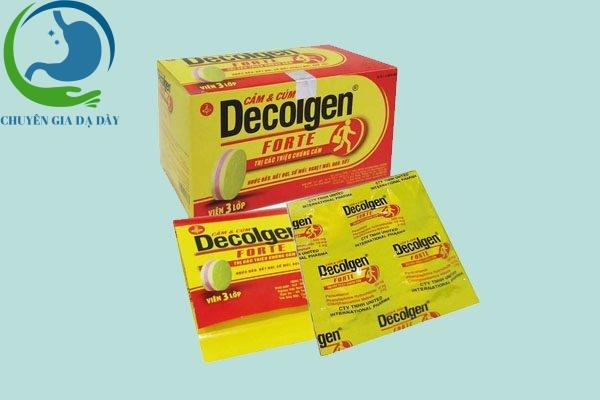 Thuốc Decolgen Forte