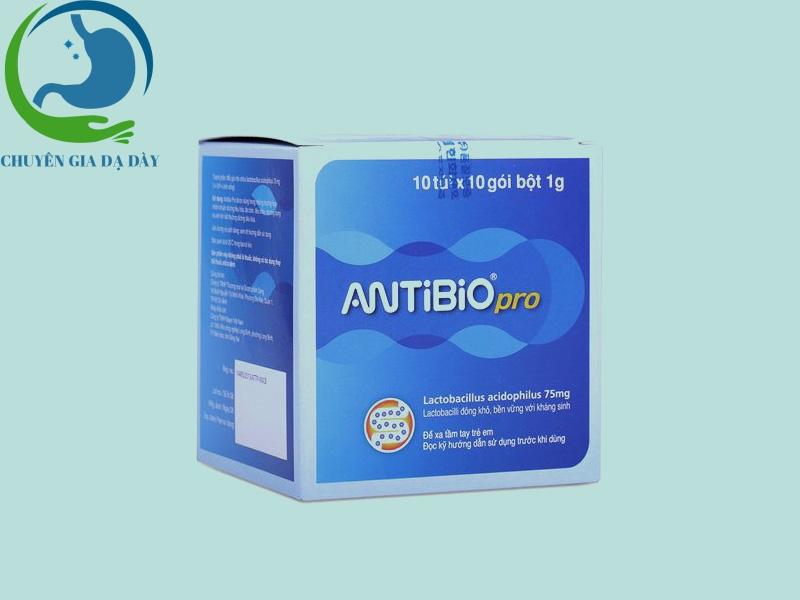 Sản phẩm Antibio pro hôp 10 gói