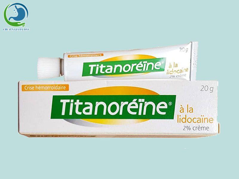 Thuốc bôi trĩ Titanoreine của Pháp