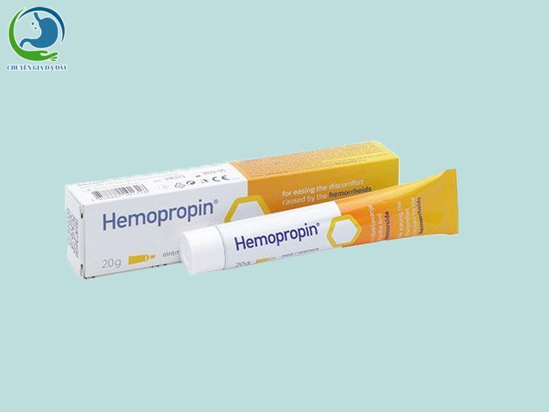 Thuốc mỡ bôi trĩ Hemopropin