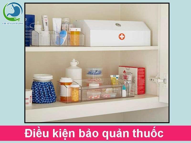 Điều kiện bảo quản thuốc