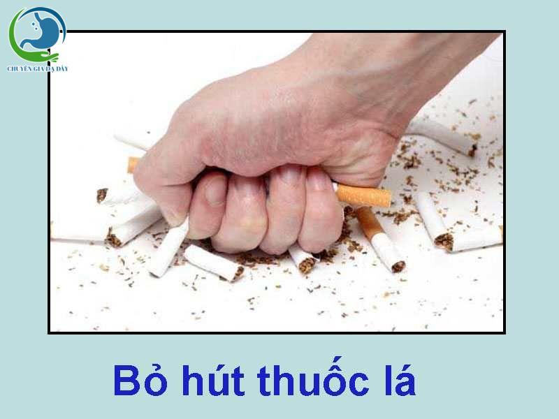 Bỏ hút thuốc lá khi dùng Rilutek