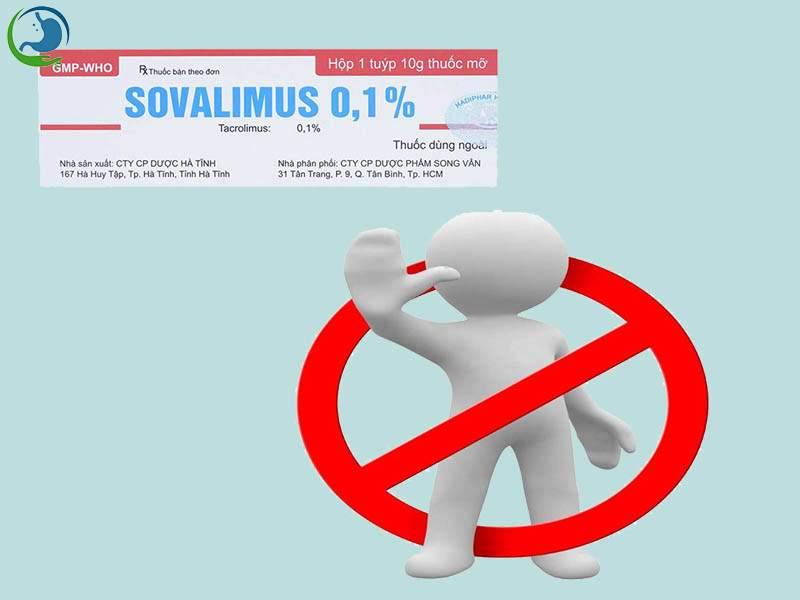 Chống chỉ định của Sovalimus
