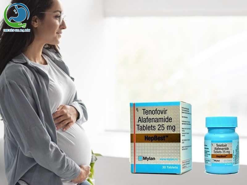 hưa có thông tin về sự ảnh hưởng của Hepbest lên phụ nữ có thai