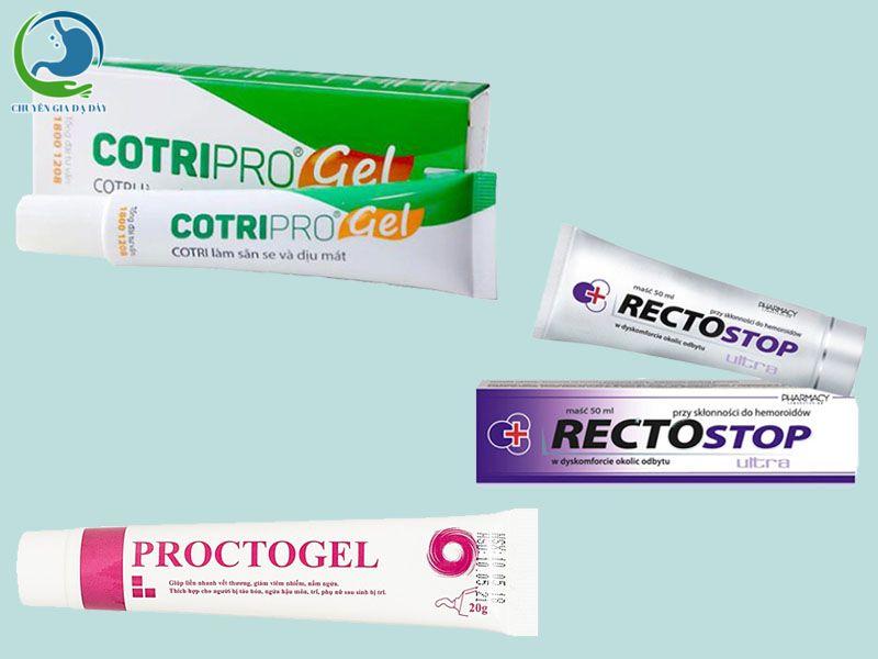 Các thuốc bôi trĩ dùng được cho phụ nữ sau sinh