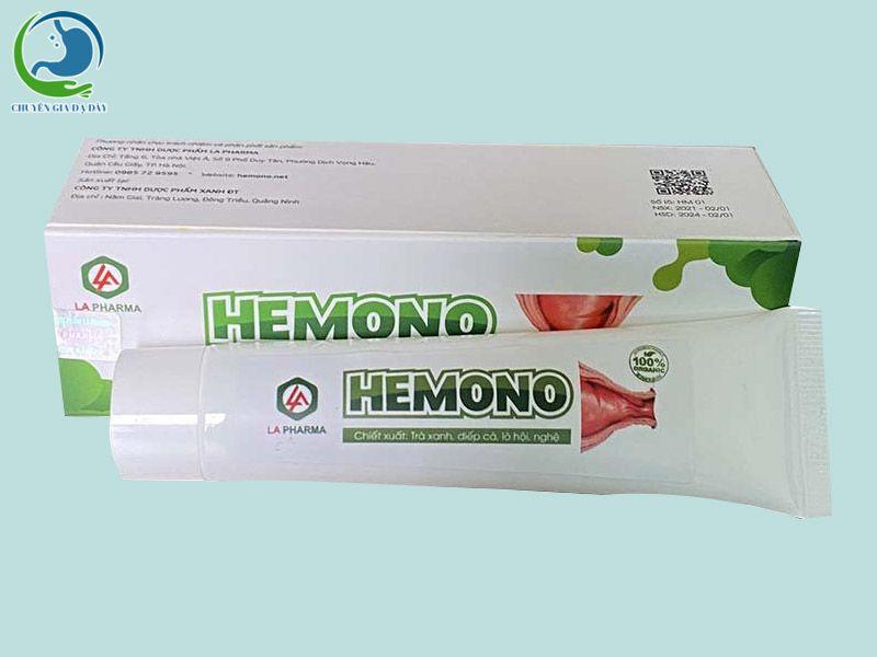 Hemono Gel - Gel bôi trĩ số 1 Việt Nam