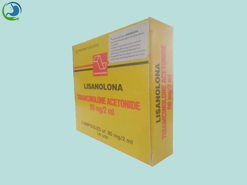 Hình ảnh: Hộp thuốc Lisanolona