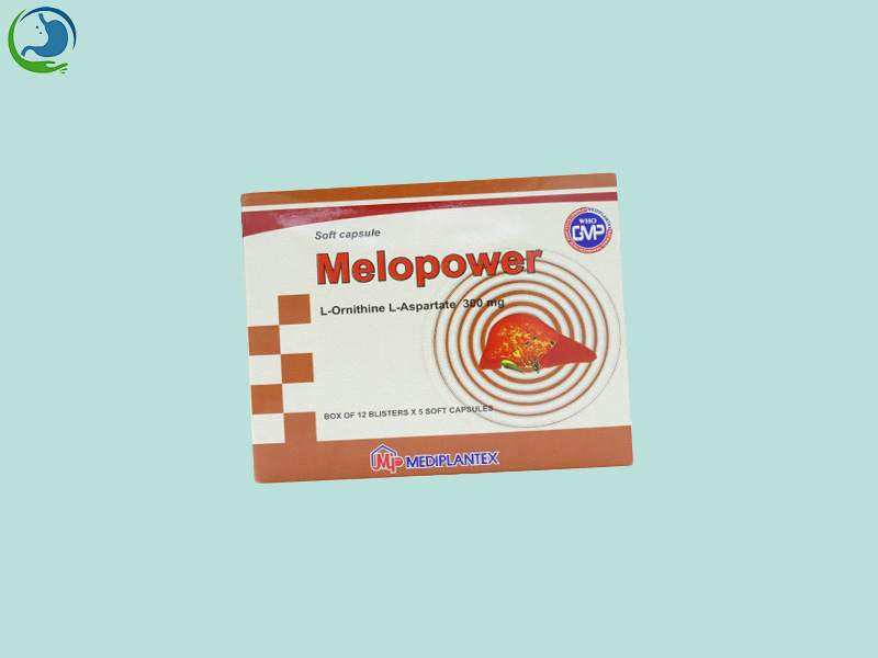 Hộp thuốc Melopower