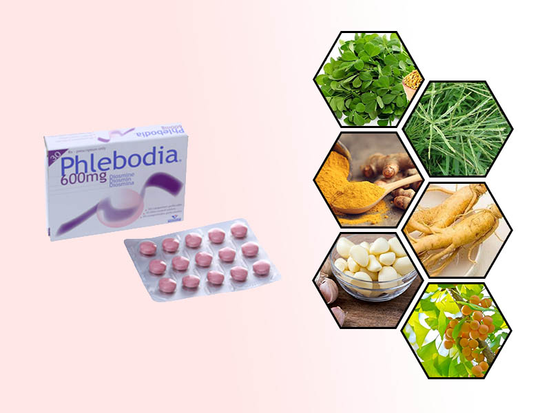 Phlebodia có thể tương tác với một số loại thảo dược