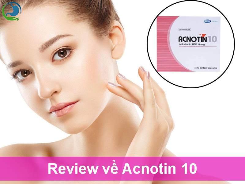 Review về Acnotin 10