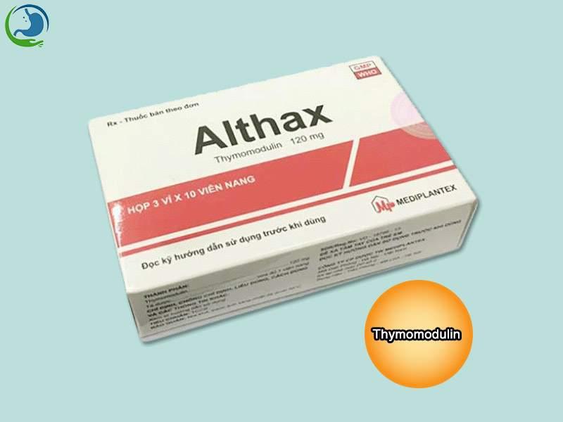 Tác dụng của thuốc Althax