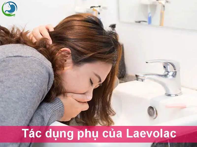 Tác dụng phụ của thuốc Laevolac
