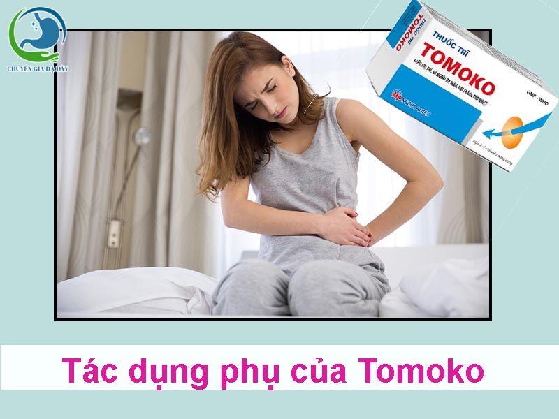 Tác dụng phụ của thuốc trĩ Tomoko