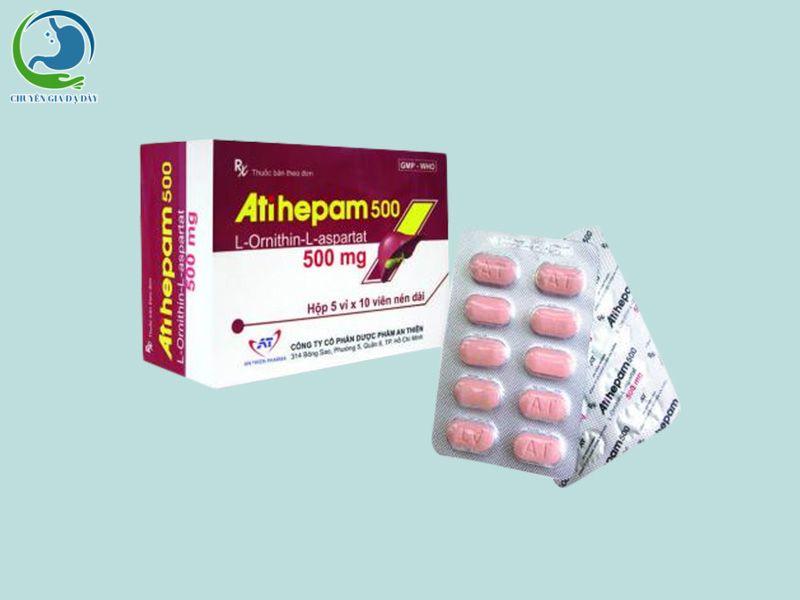Thuốc Atihepam 500