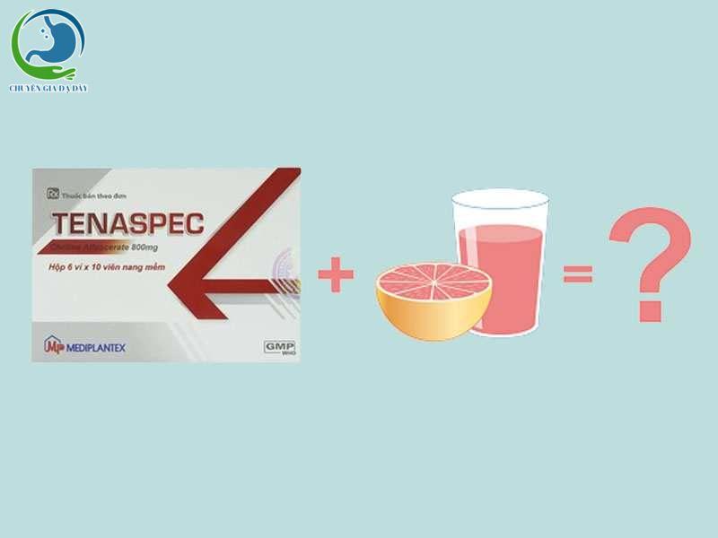 Tương tác thuốc của Tenaspec