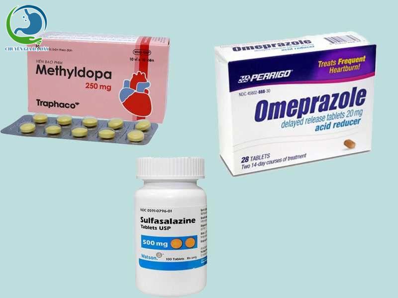 Một số thuốc xảy ra tương tác với Rilutek